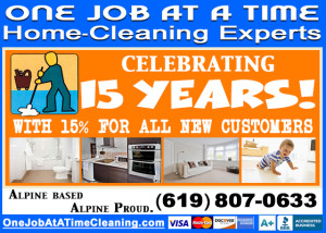 15 percent discount for new housekeeping clients in san diego ca