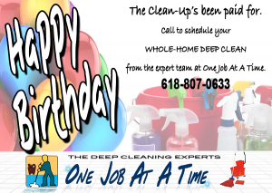 house cleaning gift certificate